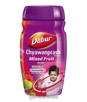Чаванпраш Дабур Фруктовый микс 500 грм. Dabur Chyawanprash Mixed Fruit срок до 10-2018