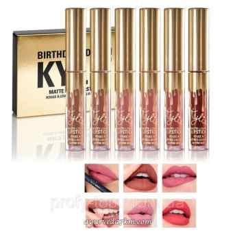 Kylie Birthday Edition Matte Liquid Lipstick - 6 штук