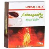 Хербал кофе Ашвагандха Плюс Ashwagandha Plus Coffee Antistress & Revitali 100 грм