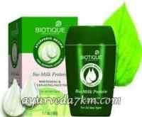 Маска для лица Био молочный протеин 60 г, Биотик Bio MIlk Protein face mask 60 g, Biotique скидка -Срок истек