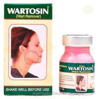 Вартосин, удаляет папиломы и бородавки, Wartosin 3ml Herbal Elevated Wart Remover