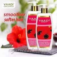 Кондиционер для волос Роза и гибискус 350 мл, Ваади  Corn rose conditioner Vaadi herbal