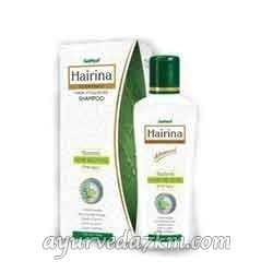Шампунь лечебный Хайрина для жирных волос 220 мл Ayusri Hairina Hair Vitalizing Shampoo for Oily Hair