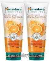 Гель для умывания апельсиновой корки и меда Хималая 100 мл (Oil Clear orange honey Face Wash Himalaya Herbals