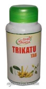 Трикату 120 таб -Trikatu Tab Shriganga